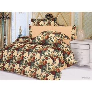 Комплект постельного белья Le Vele 2-х сп, сатин/жатый шелк, Vereno (743/21/CHAR001) комплект постельного белья le vele 2 х сп сатин luzan 746 4 char001