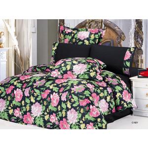 Комплект постельного белья Le Vele 2-х сп, сатин/жатый шелк, Cindy (743/51) комплект постельного белья le vele 2 х сп сатин luzan 746 4 char001