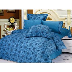 Комплект постельного белья Le Vele 2-х сп, сатин/жатый шелк, Bremen Blue (743/75) bosse bremen