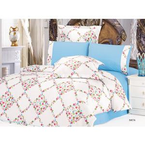 Комплект постельного белья Le Vele 2-х сп, сатин/жатый шелк, Sweta (743/78) комплект постельного белья le vele 2 х сп сатин luzan 746 4 char001