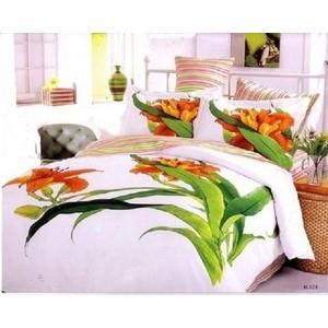 Комплект постельного белья Le Vele 1,5 сп, сатин, Aliza (741/28) комплект постельного белья le vele 1 5 сп daisy 7715