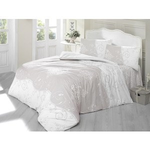 Комплект постельного белья Altinbasak 1,5 сп, ранфорс, Melina (298/59/CHAR003) цены онлайн
