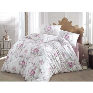 Комплект постельного белья Altinbasak Евро, ранфорс, Admire (297/CHAR003) комплект постельного белья quelle эго 1027653 евро 4 нав