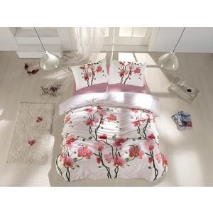 Комплект постельного белья Altinbasak Евро, ранфорс, Bloom (297/10) комплект постельного белья quelle эго 1027653 евро 4 нав