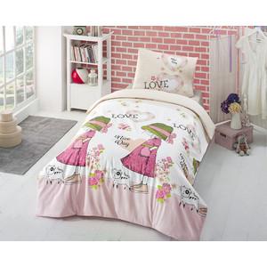 Комплект постельного белья Altinbasak 1,5 сп, ранфорс, Nice Day (296/11/CHAR002) комплект белья altinbasak nice day 1 5 спальный наволочки 50х70 цвет розовый