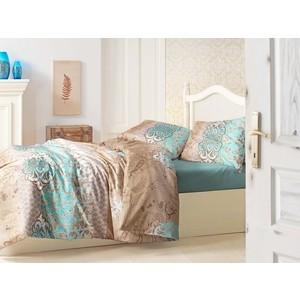 Комплект постельного белья Altinbasak 1,5 сп, ранфорс, Tuana (298/1/CHAR001) комплект постельного белья tac 1 5 сп ранфорс diane v06 mint мятный 3040 68074