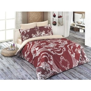 Комплект постельного белья Karna 1,5 сп, сатин люкс, Varon (461/2) цена