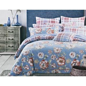 Комплект постельного белья Karna 1,5 сп, сатин люкс, Rosetta (465/22) комплект постельного белья karna 1 5 сп сатин sanford 5066 char010