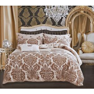 Комплект постельного белья Karna 1,5 сп, сатин люкс, Maura (465/39) цена