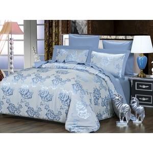 Комплект постельного белья Karna Евро, сатин-жаккард, Azura (5056) 20pcs ap5056 5056 sop8