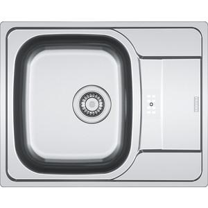 Мойка кухонная Franke PXL 614-60 3 1/2 перелив на крыле нерж лайнен (101.0192.909)
