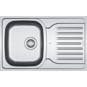 Мойка кухонная Franke PXL 614-78 3 1/2 перелив на крыле нерж лайнен (101.0192.921)