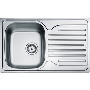 Мойка кухонная Franke PXN 611-78 3 1/2 перелив нерж матовая (101.0192.877) цена
