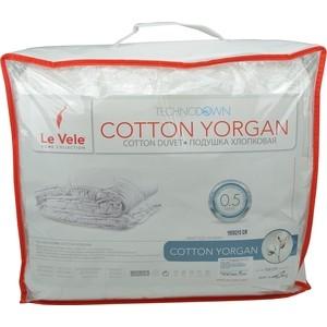 Полутороспальное одеяло Le Vele Cotton elite наносиликон 155х215 см (766/7) одеяло nature quilt 155х215