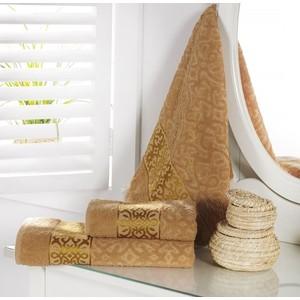 Полотенце Karna Sahra 90x150 см (2916/CHAR001) скатерть karna жаккард пано caramel 160xq круглая 2799 char001