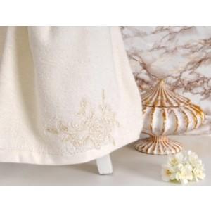 Полотенце Irya Potency с гипюром 70x140 см (2474) полотенца irya полотенце classy цвет малиновый 50х90 см