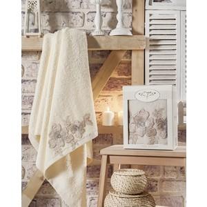 Полотенце Irya Pearly с гипюром 85x150 см (2480/CHAR004) полотенца irya полотенце pearly цвет бежевый 50х90 см