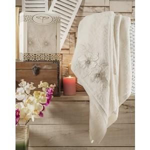 Полотенце Irya Pearly с гипюром 85x150 см (2480/CHAR001) полотенца irya полотенце pearly цвет бежевый 50х90 см