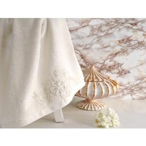 Полотенце Irya Lovely с гипюром 85x150 см (2485) цена
