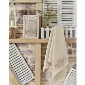 Полотенце Irya Romantic с гипюром 50x90 см (2504/CHAR002) полотенце irya pearly с гипюром 50x90 см 2503 char002