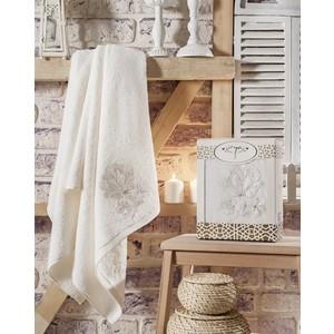 Полотенце Irya Senses с гипюром 85x150 см (2519/CHAR001) полотенца devilla полотенце senses цвет фиалковый 55х100 см