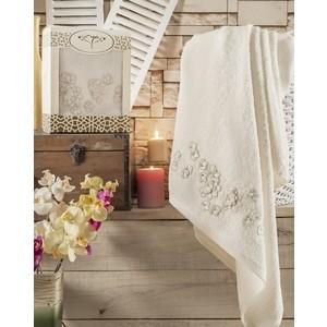 Полотенце Irya Mimosa с гипюром 85x150 см (2559) цена