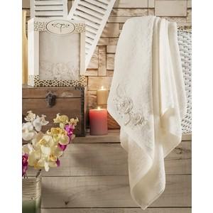 Полотенце Irya Rose с гипюром 85x150 см (2560) полотенца irya полотенце wella цвет красный 70х130 см