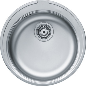 Мойка кухонная Franke RON 610-38, выпуск 3,5, без вентиля, нержавеющая сталь матовая (101.0179.453)