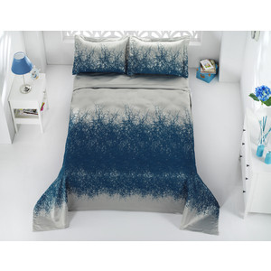 Покрывало Karna жаккард Florina 260x260 +наволочки 60x80 см (2770/CHAR008) покрывало двуспальное karna florina 260 260 см синий