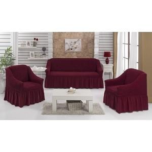 Набор чехлов для мягкой мебели 3 предмета Every (1799/CHAR002) набор чехлов для дивана и кресел мартекс с карманами 3 предмета 05 0751 3