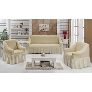 Набор чехлов для мягкой мебели 3 предмета Every (1799/CHAR011) every набор чехлов для дивана every цвет кремовый