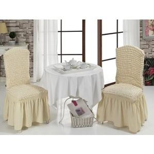 Чехлы на стулья 2 штуки Bulsan (1906/CHAR003) чехлы на стулья 2 штуки karna milano 2911 char003