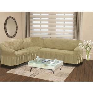 Чехол на диван угловой левосторонний Bulsan (1907/CHAR002) чехол для дивана burumcuk bulsan угловой левосторонний пятиместный цвет вишневый