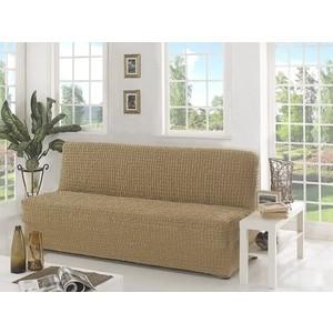 Чехол для двухместного дивана без подлокотников Karna (2650/CHAR001) скатерть karna жаккард пано caramel 160xq круглая 2799 char001