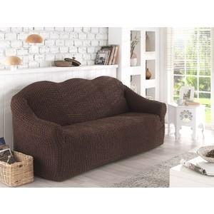 Чехол для двухместного дивана Karna коричневый (2651/CHAR003)