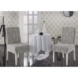 Чехлы на стулья 2 штуки Karna Milano (2911/CHAR006)