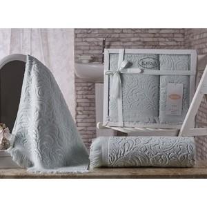 Набор из 2 полотенец Karna Esra (50X90/70x140) (1687/CHAR006) комплект махровых полотенец karna esra 50x90 70х140 см 1158865