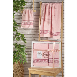 Набор из 2 полотенец Pupilla Dream (50X90/70x140) (2980/CHAR005) полотенца pupilla набор из 2 полотенец seren цвет розовый
