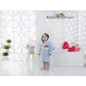 Халат детский Karna велюр с капюшоном Snop 2-3 Лет (2820/CHAR002) 3м 2820
