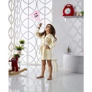 Халат детский Karna велюр с капюшоном Snop 2-3 Лет (2820/CHAR003) 3м 2820