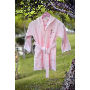Халат детский Pupilla бамбук с вышивкой Kids розовый (2942/CHAR002) dior kids комбинезон с вышивкой