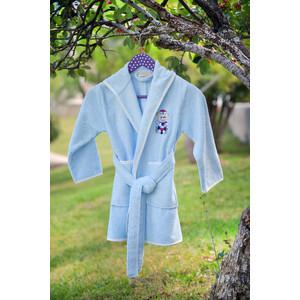 Халат детский Pupilla бамбук с вышивкой Kids голубой (2944/CHAR002) dior kids комбинезон с вышивкой