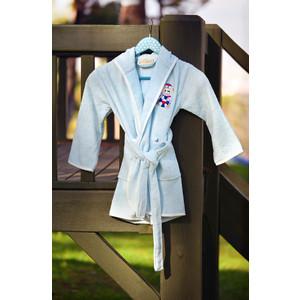 Халат детский Pupilla бамбук с вышивкой Kids ментол (2949/CHAR002) dior kids комбинезон с вышивкой