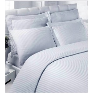 Комплект постельного белья Karna 1,5 сп, сатин, гостиничное (219/1) кпб 1 5 сп простая жизнь сирень кпб 1 5 сп простая жизнь