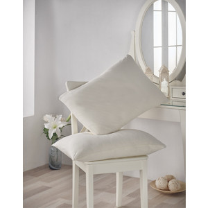 Наволочки 2 штуки Karna трикотажные Acelya 50x70 (2964/CHAR004) чехлы на стулья 2 штуки karna milano 2911 char004