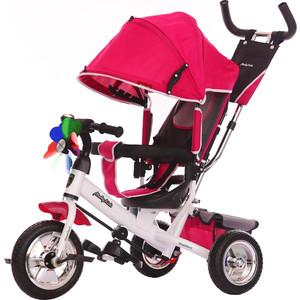 Велосипед 3-х колесный Moby Kids Comfort 10x8 EVA вишневый 641049 велосипед 3 х колесный moby kids comfort зеленый 950d green