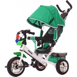Велосипед 3-х колесный Moby Kids Comfort 10x8 EVA зеленый 641050 велосипед 3 х колесный moby kids comfort