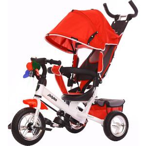 Велосипед 3-х колесный Moby Kids Comfort 10x8 EVA красный 641047 велосипед 3 х колесный moby kids comfort зеленый 950d green