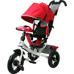 Велосипед 3-х колесный Moby Kids Comfort 12x10 AIR Car 2 красный 641087