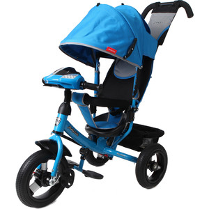 Велосипед 3-х колесный Moby Kids Comfort 12x10 AIR Car1 синий 641085